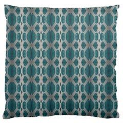 Tropical Blue Abstract Ocean Drops Standard Flano Cushion Case (two Sides) by yoursparklingshop