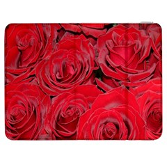 Red Roses Love Samsung Galaxy Tab 7  P1000 Flip Case by yoursparklingshop