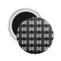 Black White Gray Crosses 2 25  Magnets by yoursparklingshop