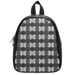 Black White Gray Crosses School Bags (small)  by yoursparklingshop