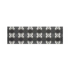 Black White Gray Crosses Satin Scarf (oblong) by yoursparklingshop