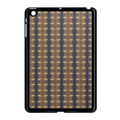 Black Brown Gold Stripes Apple Ipad Mini Case (black) by yoursparklingshop