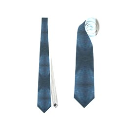 Blue Diamonds Of The Sea 1 Neckties (two Side)  by yoursparklingshop