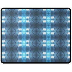 Blue Diamonds Of The Sea 1 Fleece Blanket (medium)  by yoursparklingshop
