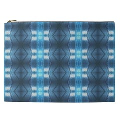 Blue Diamonds Of The Sea 1 Cosmetic Bag (xxl)  by yoursparklingshop