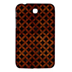 Circles3 Black Marble & Brown Burl Wood Samsung Galaxy Tab 3 (7 ) P3200 Hardshell Case  by trendistuff