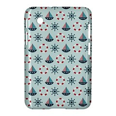 Nautical Elements Pattern Samsung Galaxy Tab 2 (7 ) P3100 Hardshell Case  by TastefulDesigns