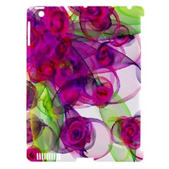 Violet Apple Ipad 3/4 Hardshell Case (compatible With Smart Cover) by SugaPlumsEmporium