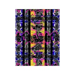 Urban Tribal Stripes Shower Curtain 48  X 72  (small)  by dflcprints