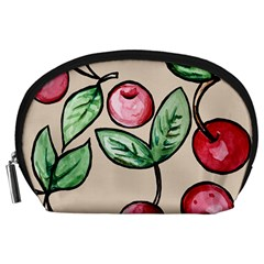 Cherry Pattern Accessory Pouches (large)  by BubbSnugg