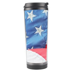 Folded American Flag Travel Tumbler by StuffOrSomething