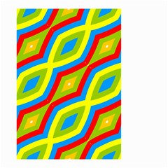 Colorful Chains                    Small Garden Flag by LalyLauraFLM