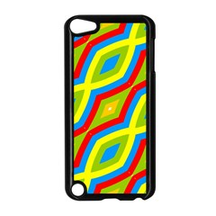 Colorful Chains                    apple Ipod Touch 5 Case (black) by LalyLauraFLM