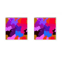 Spots                     Cufflinks (Square) by LalyLauraFLM