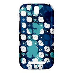 Blue texture                       HTC One SV Hardshell Case by LalyLauraFLM