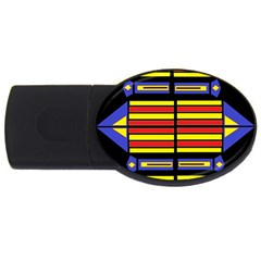 Flair One Usb Flash Drive Oval (4 Gb)  by MRTACPANS