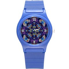 Ornate Mosaic Round Plastic Sport Watch (s) by dflcprints