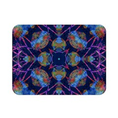 Ornate Mosaic Double Sided Flano Blanket (mini)  by dflcprints