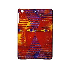 Conundrum Iii, Abstract Purple & Orange Goddess Ipad Mini 2 Hardshell Cases by DianeClancy