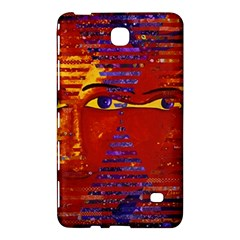 Conundrum Iii, Abstract Purple & Orange Goddess Samsung Galaxy Tab 4 (8 ) Hardshell Case  by DianeClancy