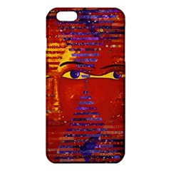 Conundrum Iii, Abstract Purple & Orange Goddess Iphone 6 Plus/6s Plus Tpu Case by DianeClancy
