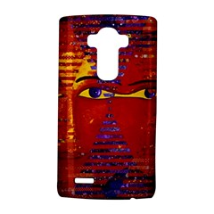 Conundrum Iii, Abstract Purple & Orange Goddess Lg G4 Hardshell Case by DianeClancy