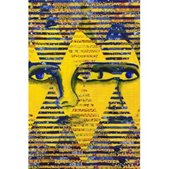 Conundrum Ii, Abstract Golden & Sapphire Goddess 5 5  X 8 5  Notebooks by DianeClancy