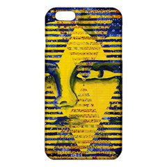 Conundrum Ii, Abstract Golden & Sapphire Goddess Iphone 6 Plus/6s Plus Tpu Case by DianeClancy