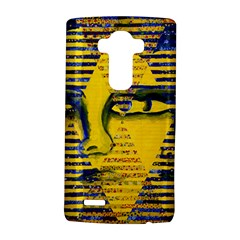 Conundrum Ii, Abstract Golden & Sapphire Goddess Lg G4 Hardshell Case by DianeClancy