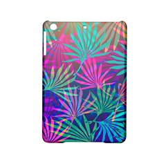 Colored Palm Leaves Background Ipad Mini 2 Hardshell Cases by TastefulDesigns