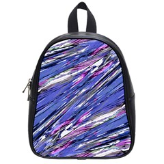Abstract Collage Print School Bags (small)  by dflcprints