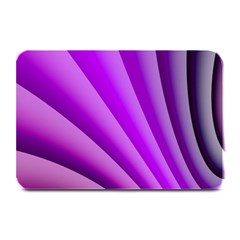 Gentle Folds Of Purple Plate Mats by FunWithFibro