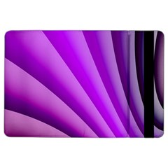 Gentle Folds Of Purple Ipad Air 2 Flip by FunWithFibro