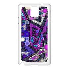 Hipster Bubbes Samsung Galaxy Note 3 N9005 Case (white) by KirstenStar