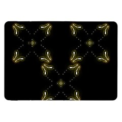 Festive Black Golden Lights  Samsung Galaxy Tab 8 9  P7300 Flip Case by yoursparklingshop