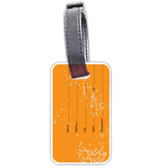 Tag By X   Luggage Tag (two Sides)   Mmw8mhe918ls   Www Artscow Com Back