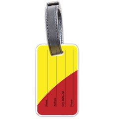Tag2 By X   Luggage Tag (two Sides)   Yympjyjznhcx   Www Artscow Com Back