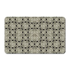 Interlace Arabesque Pattern Magnet (rectangular) by dflcprints