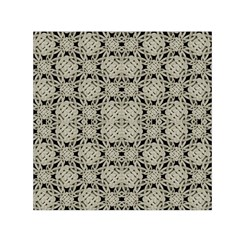 Interlace Arabesque Pattern Small Satin Scarf (square) by dflcprintsclothing