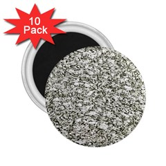 Black And White Abstract Texture 2 25  Magnets (10 Pack)  by dflcprints