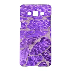 Festive Chic Purple Stone Glitter  Samsung Galaxy A5 Hardshell Case  by yoursparklingshop