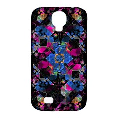 Stylized Geometric Floral Ornate Samsung Galaxy S4 Classic Hardshell Case (pc+silicone) by dflcprints