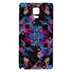 Stylized Geometric Floral Ornate Galaxy Note 4 Back Case by dflcprints