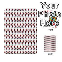 Geometric Retro Patterns Multi Purpose Cards (rectangle)  by TastefulDesigns