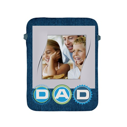 Fathers Day Gift By Dad   Apple Ipad 2/3/4 Protective Soft Case   S1dj3dxtk4xy   Www Artscow Com Front