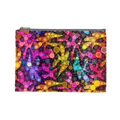 Midnight Dancers Cosmetic Bag (Large)  by KirstenStar