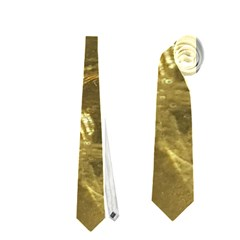 Gold Bar Golden Chic Festive Sparkling Gold  Neckties (one Side)  by yoursparklingshop