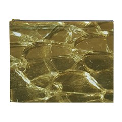 Gold Bar Golden Chic Festive Sparkling Gold  Cosmetic Bag (xl) by yoursparklingshop