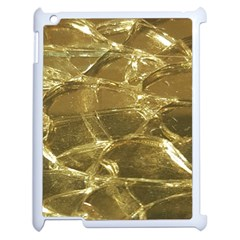 Gold Bar Golden Chic Festive Sparkling Gold  Apple Ipad 2 Case (white) by yoursparklingshop
