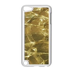 Gold Bar Golden Chic Festive Sparkling Gold  Apple Ipod Touch 5 Case (white) by yoursparklingshop